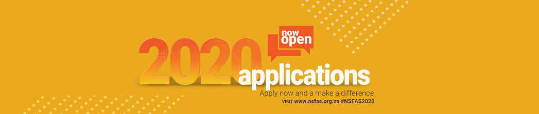 NSFAS 2020 Applications